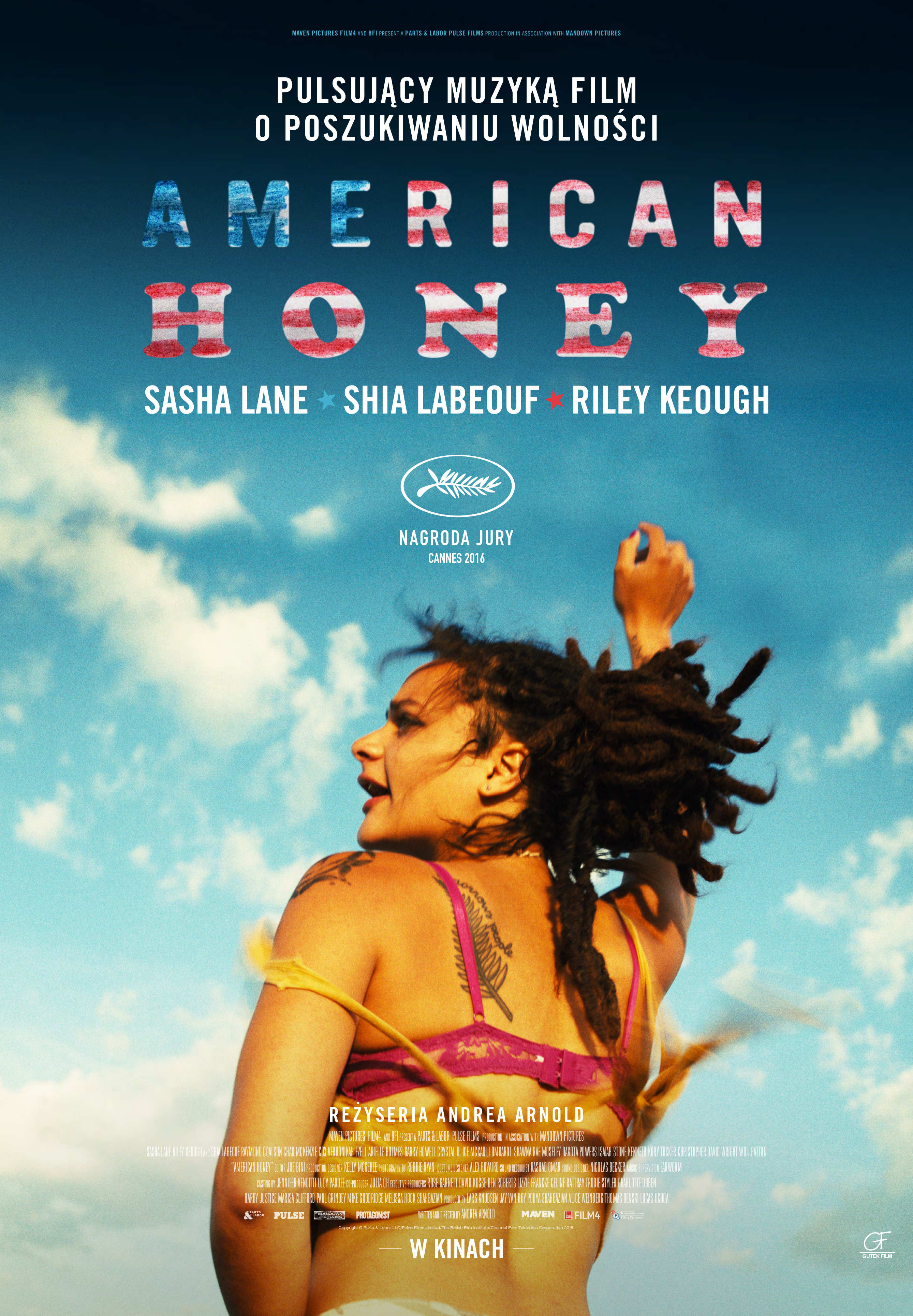 AMERICAN HONEY plakat
